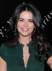 Katie Lee attended the 6th Annual Charity Ball wearing her long locks in subtle curls and waves.