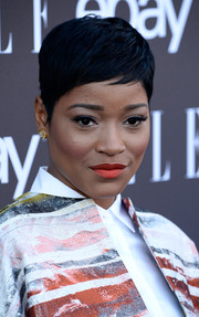 Keke Palmer showed off a perfectly styled pixie at the Elle Women in Music celebration.