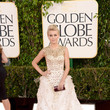 Julianna Hough Wears Monique Lhuillier at the 2013 Golden Globes