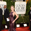 Taylor Swift Wears Donna Karan at the 2013 Golden Globes