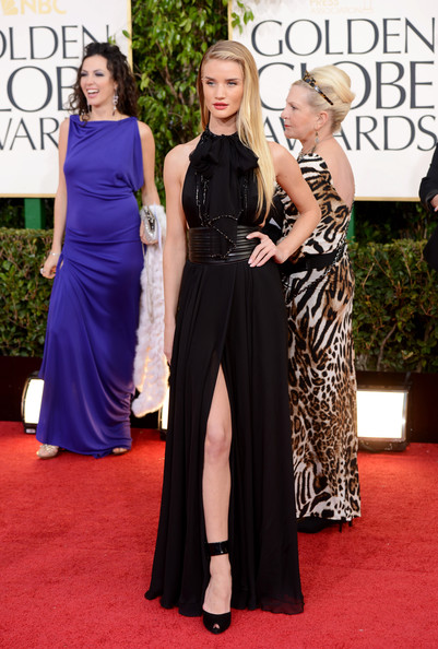 Rosie Huntington-Whiteley at the 2013 Golden Globes
