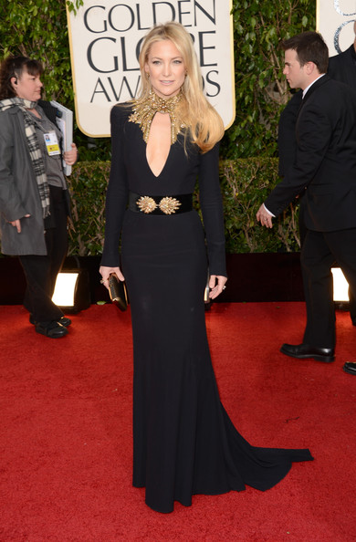 Kate Hudson Wears Alexander McQueen at the 2013 Golden Globes