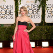 Taylor Swift in Carolina Herrera at the 2014 Golden Globe Awards