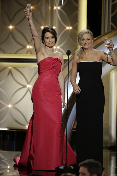 Raising a Glass at the 71st Annual Golden Globes