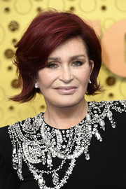 Sharon Osbourne looked stylish with her flippy bob at the 2019 Emmys.