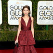 In Marchesa At The 2016 Golden Globes