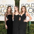 Miss Golden Globes Sistine, Scarlet, and Sophia Stallone