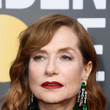 Hairstyles For Women With Fine Hair: Isabelle Huppert's Piecey Waves