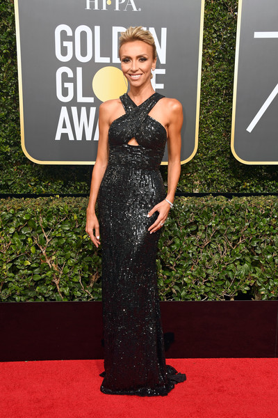 Giuliana Rancic in Sherri Hill