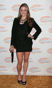 Swimmer Natalie Coughlin looked hot in an LBD at a luncheon.