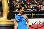 Shaun Robinson Dons a Classic Updo for the Oscars