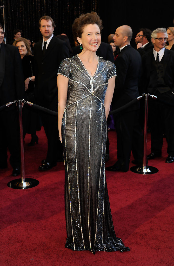 Annette Bening In Naeem Khan Best Dressed At The 2011