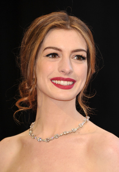 Anne+Hathaway in 83rd Annual Academy Awards - Arrivals