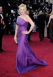 Virginia Madsen was a vision in purple at the 2012 Oscars.