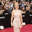 Penelope Ann Miller in Badgley Mischka