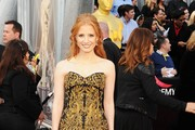 Actress Jessica Chastain arrives at the 84th Annual Academy Awards held at the Hollywood & Highland Center on February 26, 2012 in Hollywood, California.