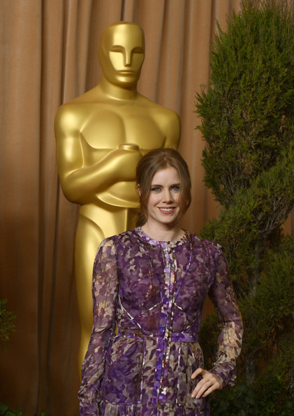 More Pics of Amy Adams Print Dress (2 of 13) - Print Dress Lookbook - StyleBistro