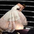 Jennifer Lawrence falls in Dior.