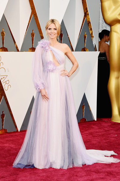 In Marchesa At The 2016 Oscars