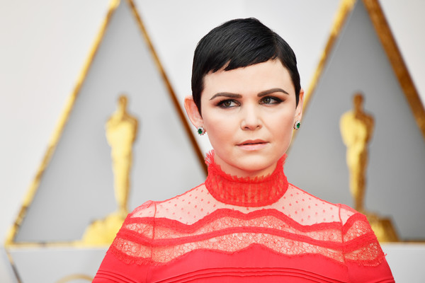 Ginnifer Goodwin was a cutie at the 2017 Oscars wearing her signature pixie.