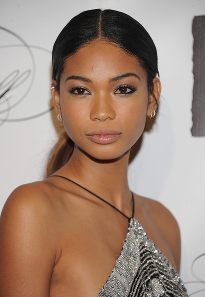 More Pics of Chanel Iman Neutral Eyeshadow (1 of 2) - Neutral Eyeshadow Lookbook - StyleBistro