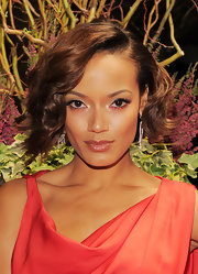 Selita Ebanks looked sultry at the New Yorkers for Children Spring Dinner Dance with a softly curled short bob.