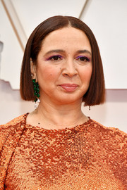 Maya Rudolph opted for a sleek bob when she attended the 2020 Oscars.