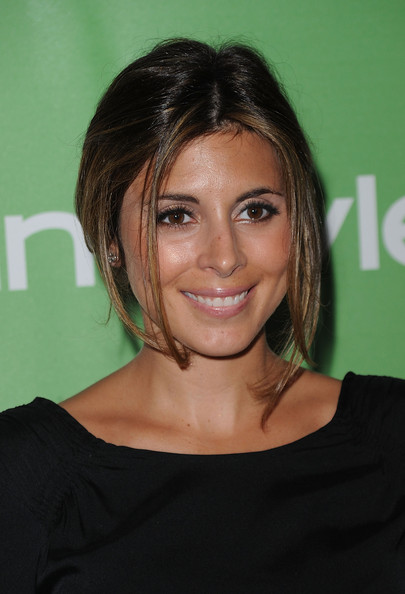 More Pics of Jamie-Lynn Sigler Loose Bun (1 of 7) - Jamie-Lynn Sigler Lookbook - StyleBistro
