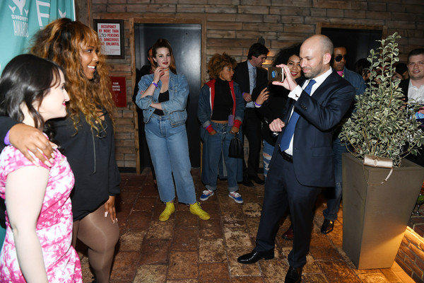 More Pics of Lizzo Leather Sneakers (5 of 8) - Athletic Shoes Lookbook - StyleBistro [event,fun,ceremony,mara wilson,lizzo,9th annual shorty awards,new york city,refinery rooftop,party,the 9th annual shorty awards]