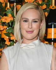 Rumer Willis attended the Veuve Clicquot Polo Classic Los Angeles wearing her hair in a slightly asymmetrical bob.