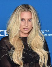 Kesha joined the Concert for Our Oceans wearing her signature long blonde waves.