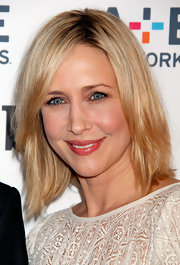 Vera went with a fleshy-pink lip color for her look while on the red carpet in NYC.