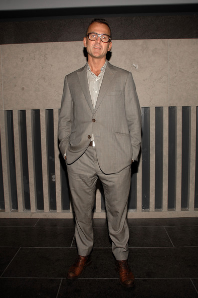 Steven showed off his sleek suit while hitting a fashion event in NYC.