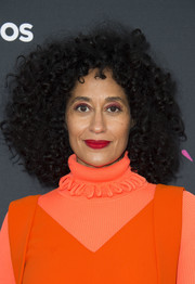 Tracee Ellis Ross looked groovy with her afro at the 'Black-ish' FYC event.