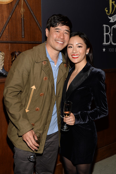 More Pics of Constance Wu Pumps (3 of 18) - Constance Wu Lookbook - StyleBistro [episode,episode,fashion,event,outerwear,suit,jacket,fashion design,formal wear,leather jacket,randall park,constance wu,fresh off the boat,california,los angeles,abc celebrates,abc,celebration]