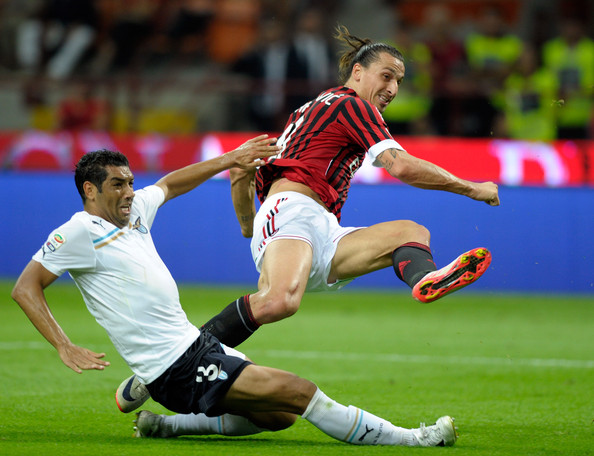 More Pics of Zlatan Ibrahimovic Ponytail (3 of 12) - Zlatan Ibrahimovic Lookbook - StyleBistro