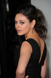 Mila Kunis showed off a voluminous updo while attending the AFI fest. She added a little volume at the roots for added dimension.