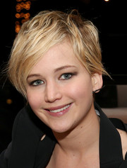 Even with this messy 'do, Jennifer Lawrence looked oh-so-cute at the AFI Fest.