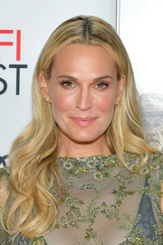 Molly Sims looked like a goddess with her flowing waves at the AFI FEST 2017 opening night gala.