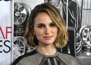 Natalie Portman loked gorgeous wearing this textured bob at the AFI FEST premiere of 'Queen and Slim.'