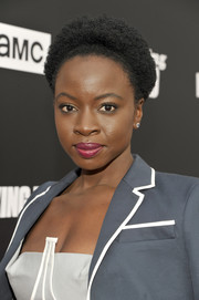 Danai Gurira attended the Talking Dead Live event wearing her natural curls.
