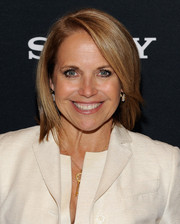 Katie Couric styled her hair into a neat bob for the Women Creators Panel.