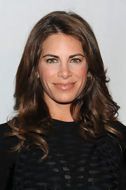Jillian Michaels rocked soft curls at the AOL 'Maxim' party.