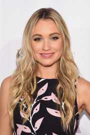 Katrina Bowden was sweetly coiffed with super-long waves at the ASPCA Young Friends benefit.