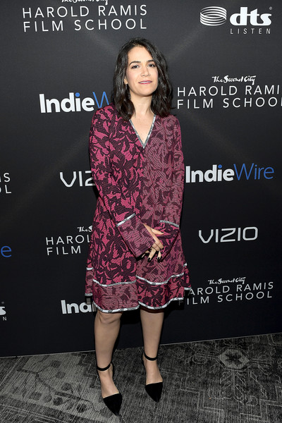 Abbi Jacobson Print Dress