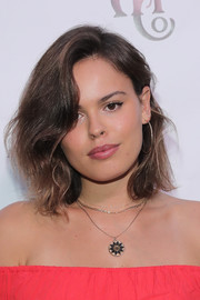 Atlanta de Cadenet Taylor wore a slightly wavy lob at the Abercrombie & Fitch Summer Rooftop Party.