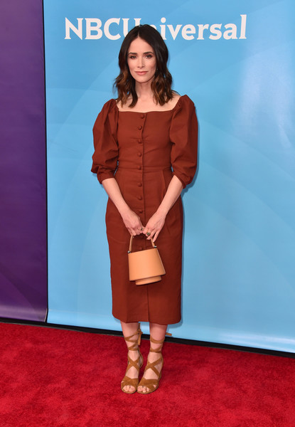 Abigail Spencer Midi Dress