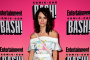 Abigail Spencer Off-the-Shoulder Dress