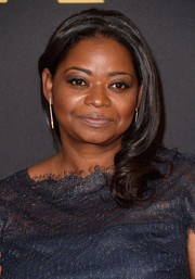 Octavia Spencer attended the Governors Awards wearing a sweet side sweep.