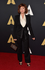 Susan Sarandon looked sharp in her black pantsuit at the Governors Awards.